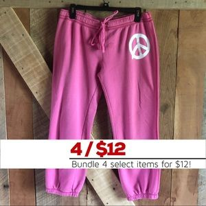 Victoria's Secret PINK | Cropped Sweat Pants
